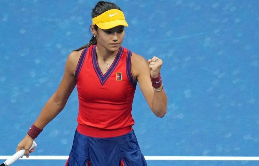 US Open: Raducanu, première joueuse issue des qualifications à gagner un Grand Chelem