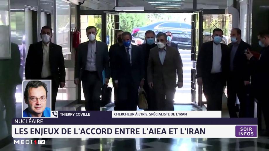Les enjeux de l'accord entre l'AIEA et l'Iran