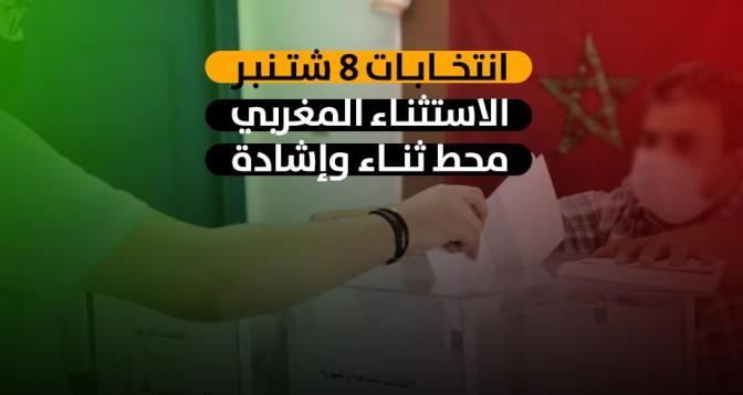 انتخابات 8 شتنبر .. الاستثناء المغربي محط ثناء وإشادة دولية