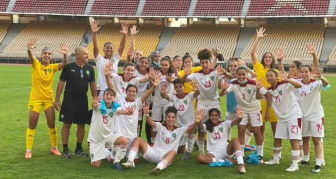 Éliminatoires de la Coupe du monde féminine U20: l'équipe nationale en stage de préparation à Maâmora