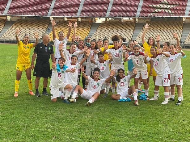 المنتخب الوطني النسوي لأقل من عشرين سنة يدخل غمار تصفيات كأس العالم