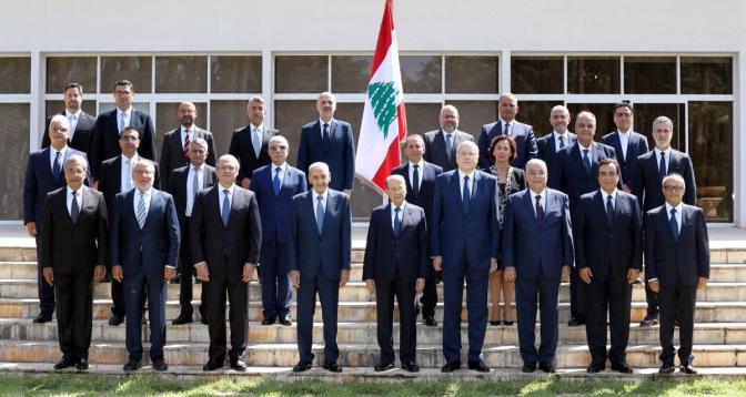 لبنان: الحكومة اللبنانية الجديدة تعقد أولى اجتماعاتها