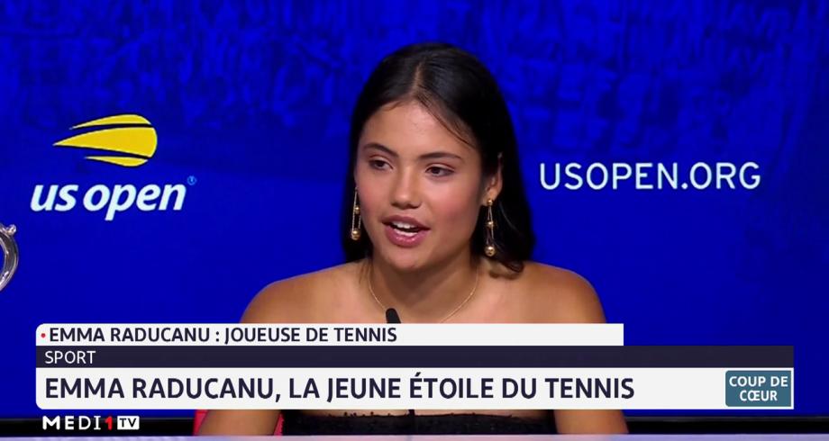 Coup de cœur: Emma Raducanu, la jeune étoile du tennis