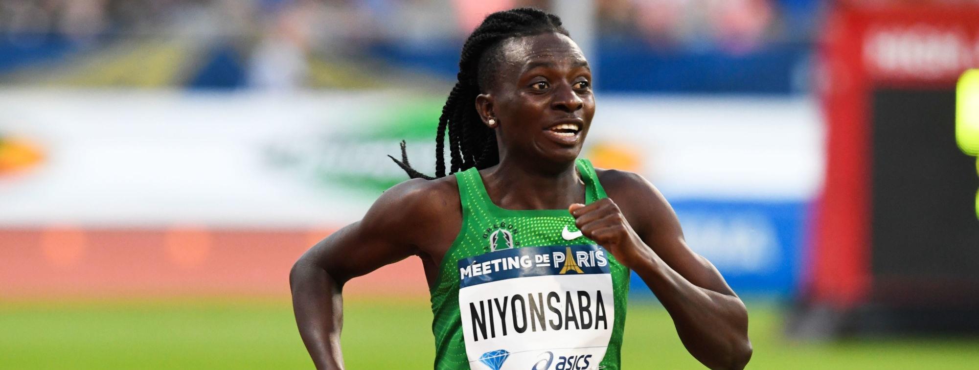 Athlétisme: La Burundaise Niyonsaba bat le record du monde 2000 m