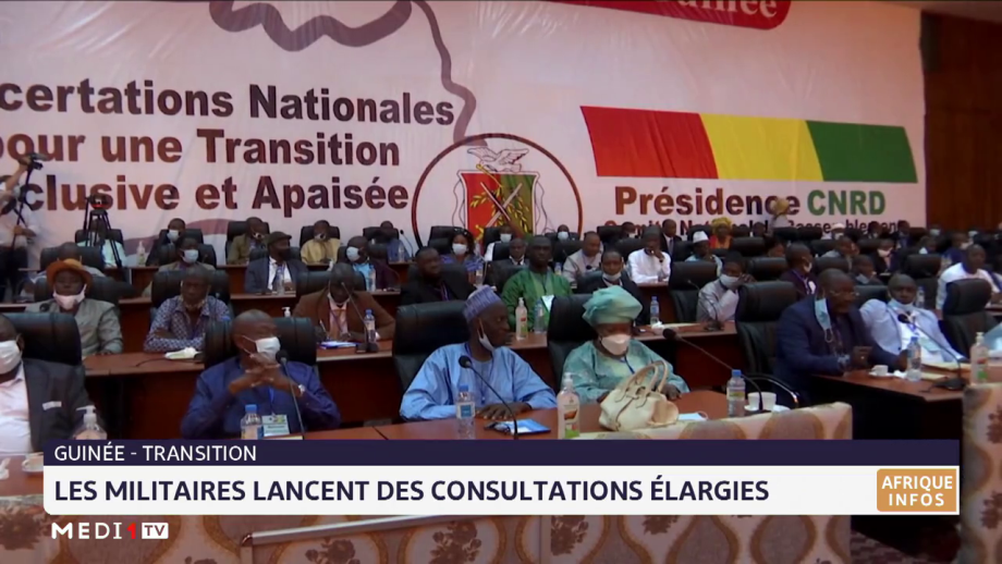 Guinée: les militaires lancent des consultations élargies