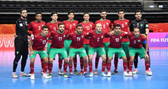 Coupe du monde de futsal : le Maroc et le Portugal se neutralisent (3-3)