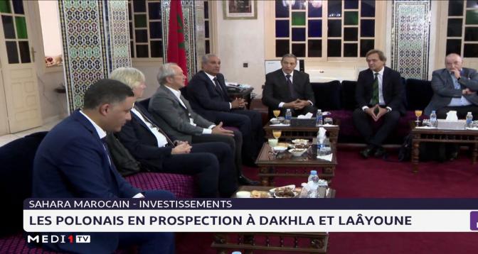 Investissements: les Polonais en prospection à Dakhla et Laâyoune