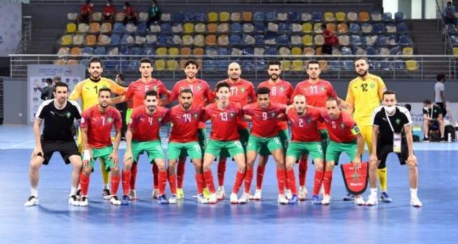 كأس العالم لكرة القدم داخل القاعة-ليتوانيا 2021 .. المنتخب المغربي يتعادل مع نظيره التايلاندي 1-1