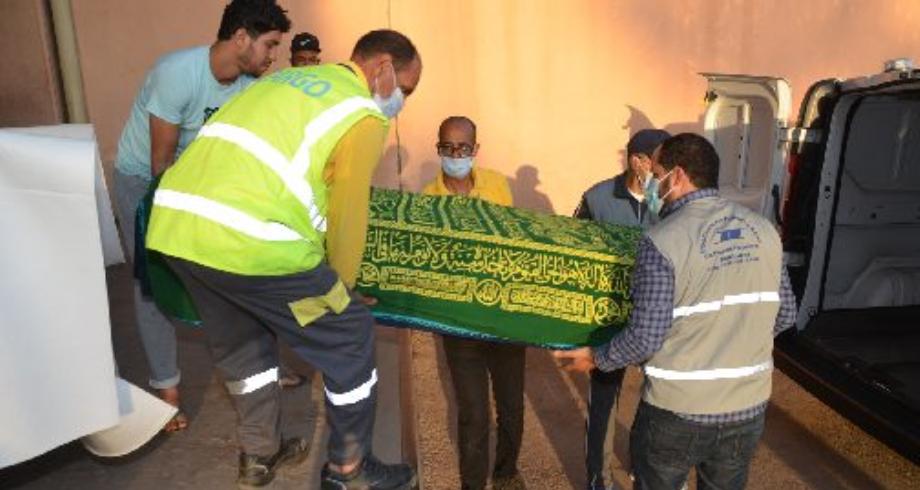 وصول جثماني السائقين المغربيين اللذين قتلا في مالي إلى أكادير