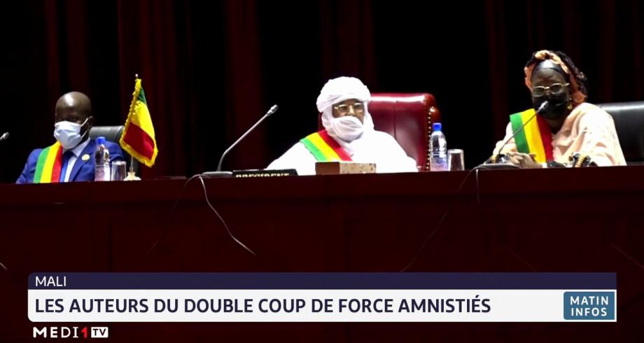 Mali: les auteurs du double coup de force amnistiés