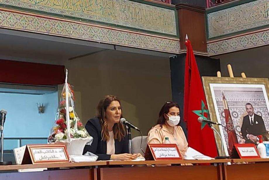 Fatima Zahra Mansouri élue présidente du Conseil communal de Marrakech