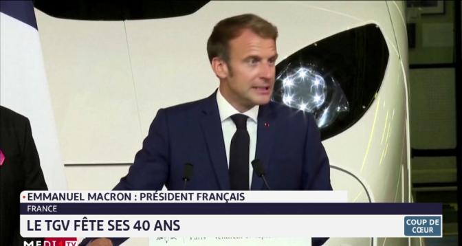 Coup de cœur: le TGV fête ses 40 ans en France