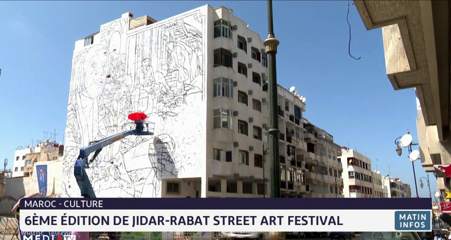 Maroc: 6e édition de Jidar-Rabat street art festival