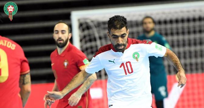 بطولة العالم لكرة الصالات .. المنتخب المغربي يتعادل مع البرتغال ويضرب موعدا مع فنزويلا