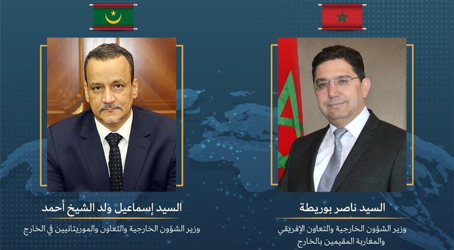 بوريطة يجري اتصالا هاتفيا مع نظيره الموريتاني