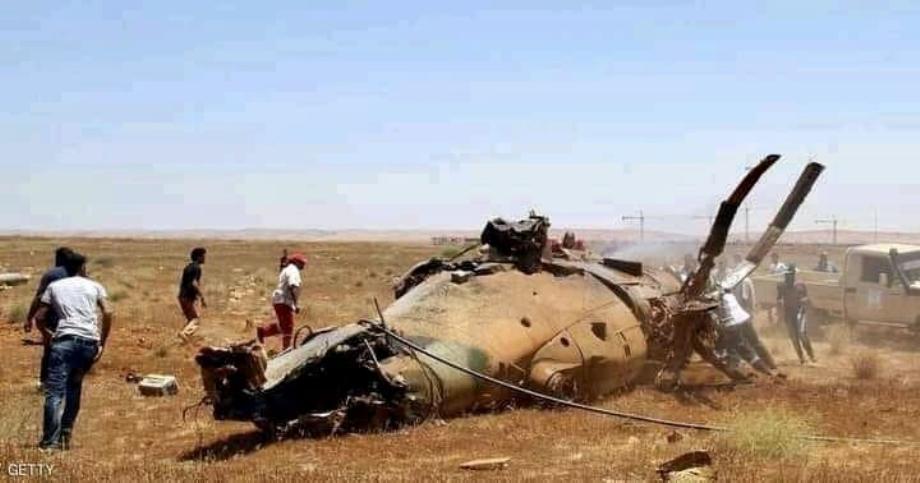 ليبيا .. مصرع عسكريين اثنين جراء اصطدام مروحيتين شرق البلاد