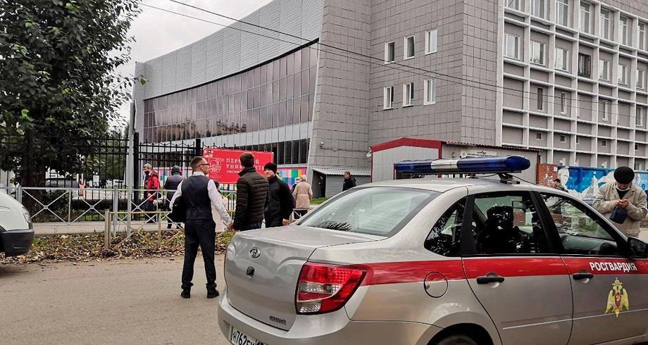 Huit morts dans une fusillade dans une université russe
