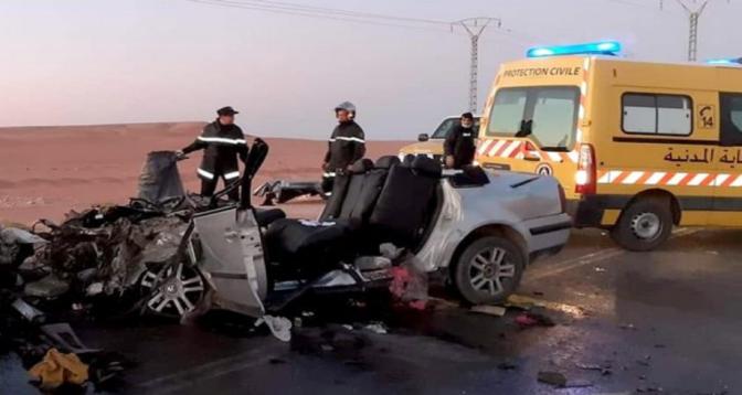 Accidents de la route en Algérie: 1.974 morts en sept mois