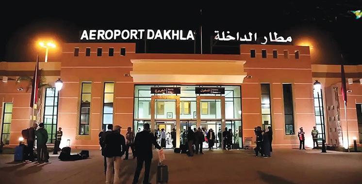 Aéroport Dakhla: Plus de 2.200 passagers internationaux entre le 15 juin et le 31 août