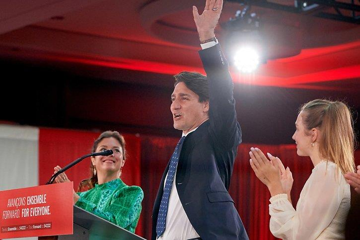 انتخابات كندا...فوز الليبراليين بزعامة ترودو لكن بدون تحقيق أغلبية برلمانية