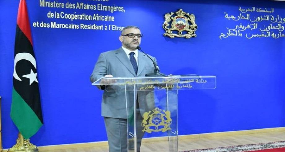 Le président du Haut Conseil d'État libyen salue les efforts du Maroc pour rapprocher les points de vue des protagonistes libyens