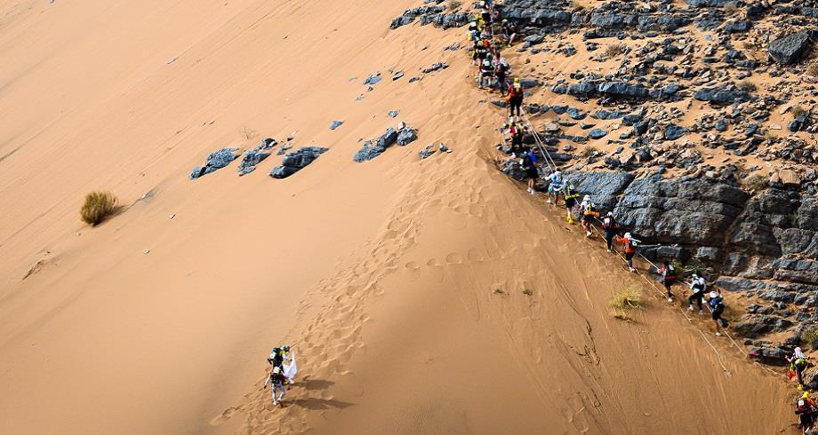 La 35ème édition du Marathon des sables revient du 1er au 11 octobre après deux ans de report