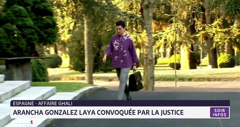 Affaire Ghali: Arancha Gonzalez Laya convoquée par la justice