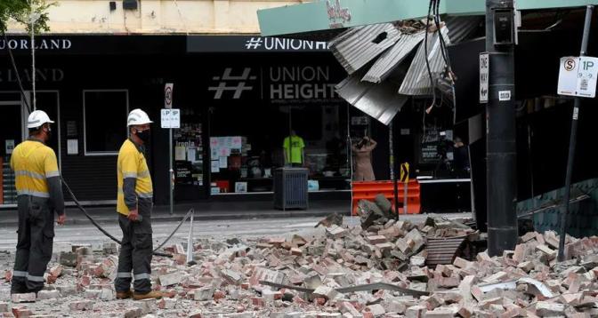 زلزال يثير الذعر في ملبورن الأسترالية