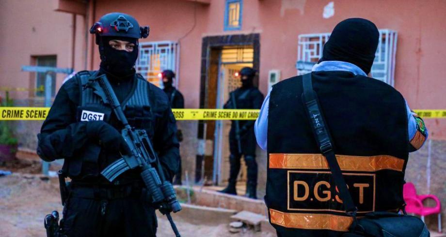 """Interpellation de 4 individus pour liens présumés avec la cellule terroriste affiliée à """"Daech"""" et démantelée à Errachidia"""