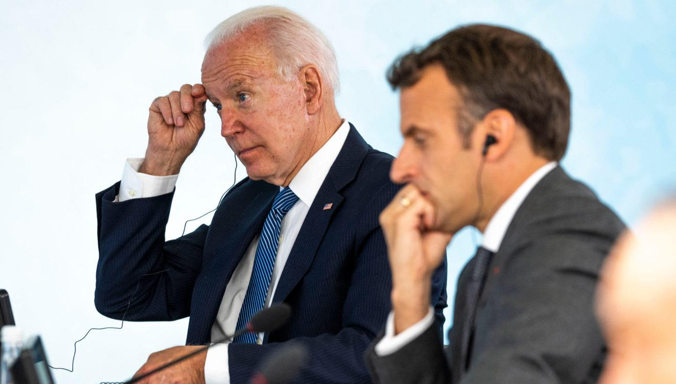 Crise des sous-marins: Entretien téléphonique Macron-Biden ce mercredi