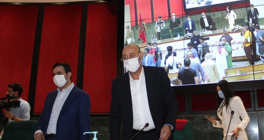 رسميا.. انتخاب منير الليموري رئيسا لمجلس جماعة طنجة