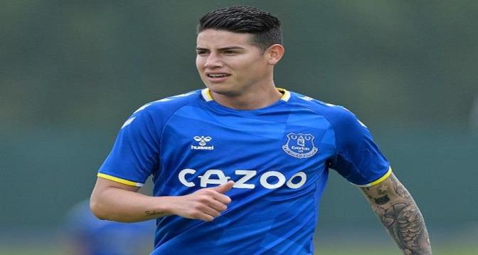 Le Colombien James Rodriguez quitte Everton pour Al Rayyan au Qatar