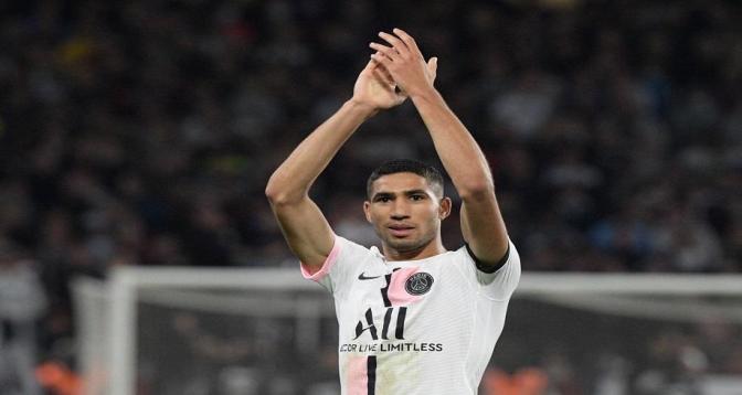 Ligue1: un doublé de Hakimi offre la victoire au PSG face à Metz