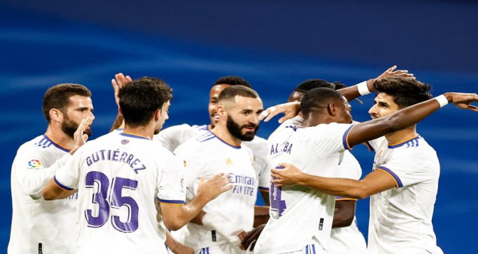 Liga: le Real Madrid corrige Majorque 6-1 et reprend la tête
