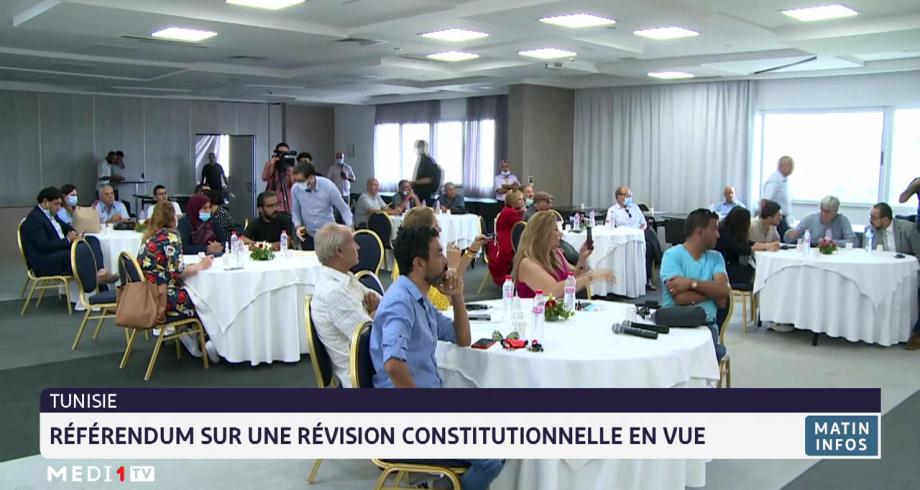 Tunisie: référendum sur une révision constitutionnelle en vue