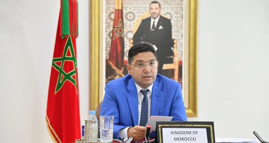 بوريطة : تحت قيادة جلالة الملك ، لطالما برهن المغرب عن حس ابتكاري في معالجة قضية الطاقة