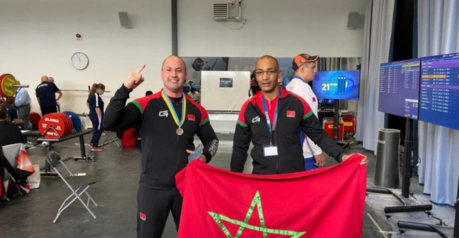 بطولة العالم للقوة البدنية .. المغربي نزار بليل يفوز بالميدالية البرونزية