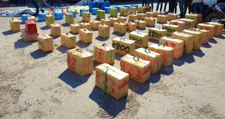 Agadir: saisie de 2 tonnes de chira, sept personnes interpellées