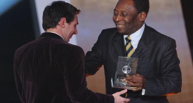 Foot: Messi félicité par Pelé pour avoir battu son record de meilleur buteur sud-américain