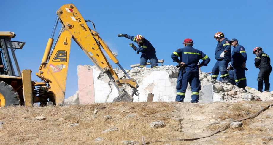 Séisme en Grèce: un mort et 11 blessés