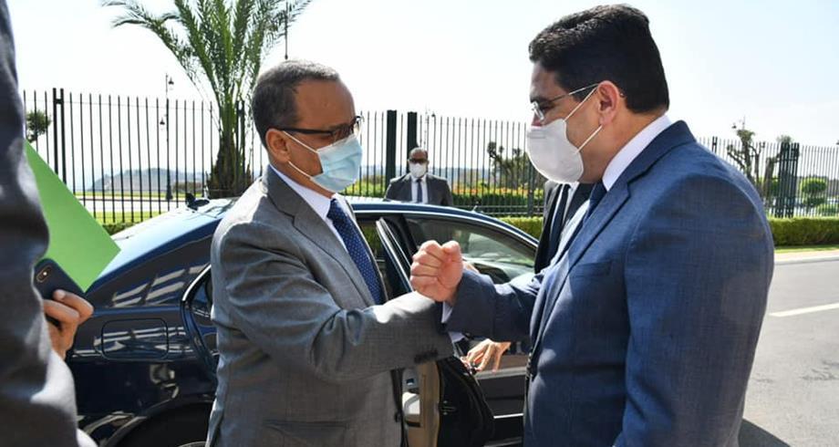 وزير الخارجية الموريتاني في زيارة للمغرب