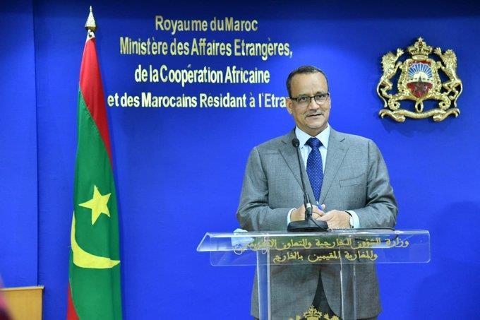 ولد الشيخ أحمد: العلاقات المغربية - الموريتانية متميزة وتتطور باستمرار