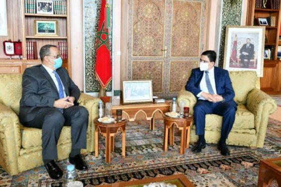 Le Maroc et la Mauritanie unis par des liens solides sous l'impulsion des deux chefs d'Etat (Bourita)