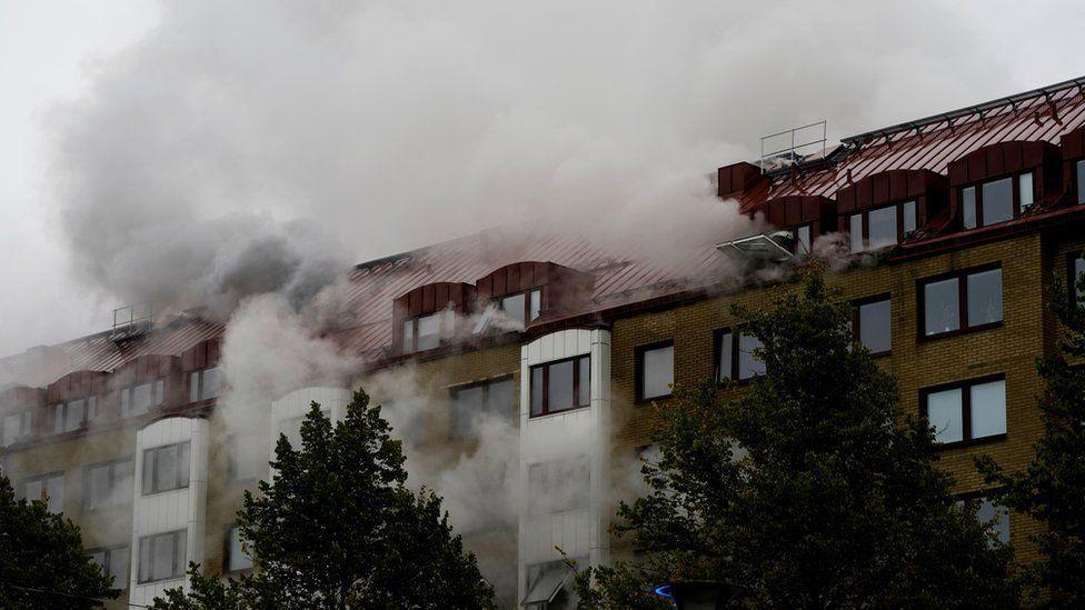 السويد .. 16 جريحا في حادث انفجار والسلطات لا تستبعد الفعل الإجرامي