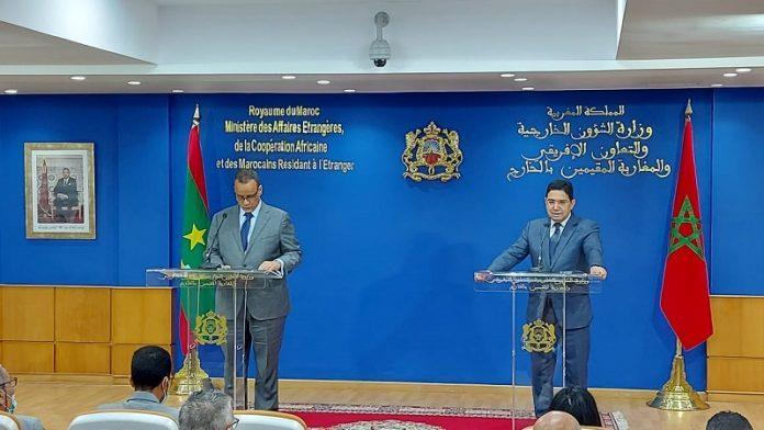 Pose de la première pierre du nouveau complexe diplomatique mauritanien à Rabat