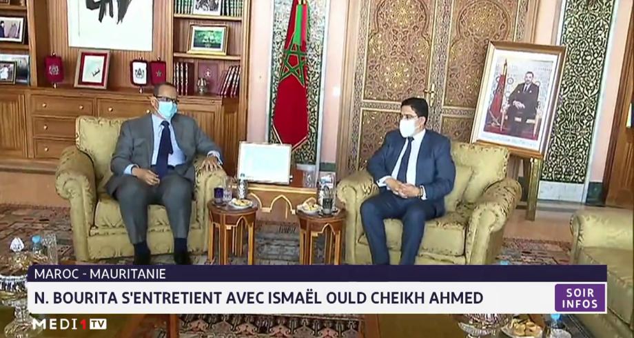 Maroc-Mauritanie: Nasser Bourita s'entretient avec Ismail Ould Cheikh Ahmed