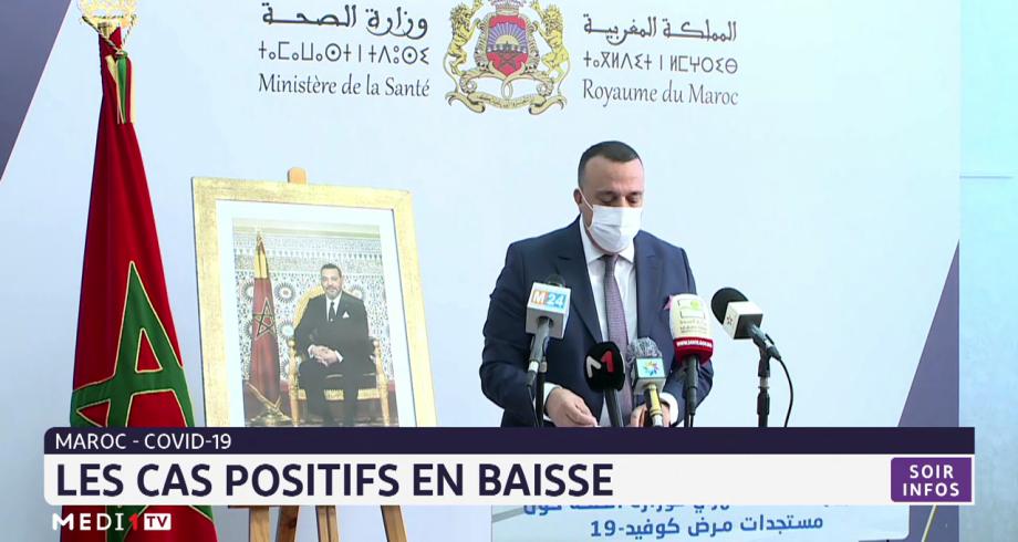 Maroc-covid 19: les cas positifs en baisse