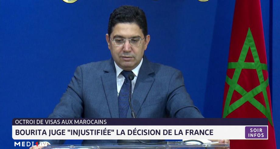 "Octroi de visa au Marocains: Bourita juge ""injustifiée"" la décision de la France"
