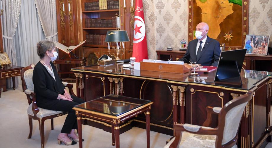 الرئيس التونسي يكلّف نجلاء بودن بتشكيل حكومة جديدة