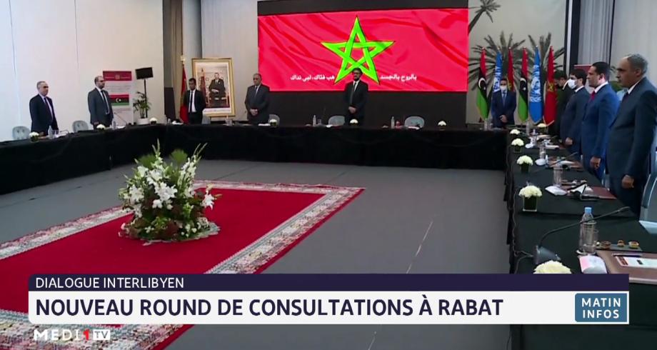 Dialogue interlibyen: nouveau round de consultations à Rabat